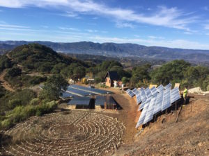 glynraven intentional community, solar bowl
